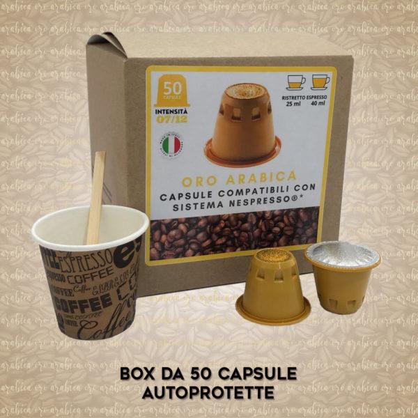 Compatibili Nespresso* Oro Arabica 50 Capsule