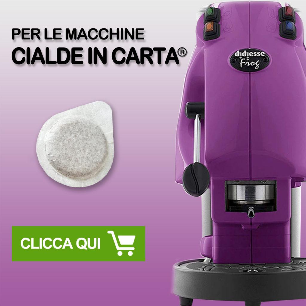 capsule compatibili 8 caffè Tasto link per cialde in carta ESE 44mm