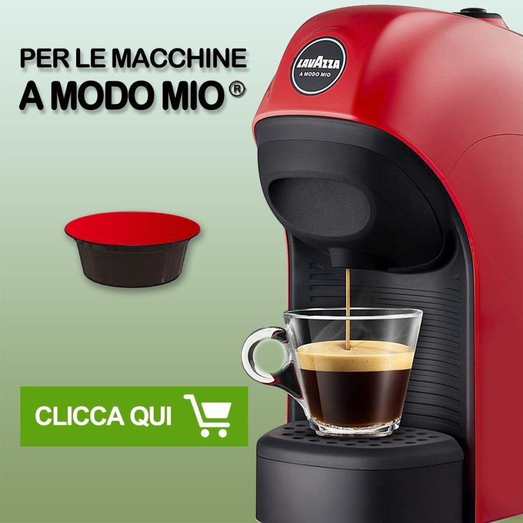 capsule compatibili 8 caffè Tasto link per capsule compatibli sistema a modo mio*