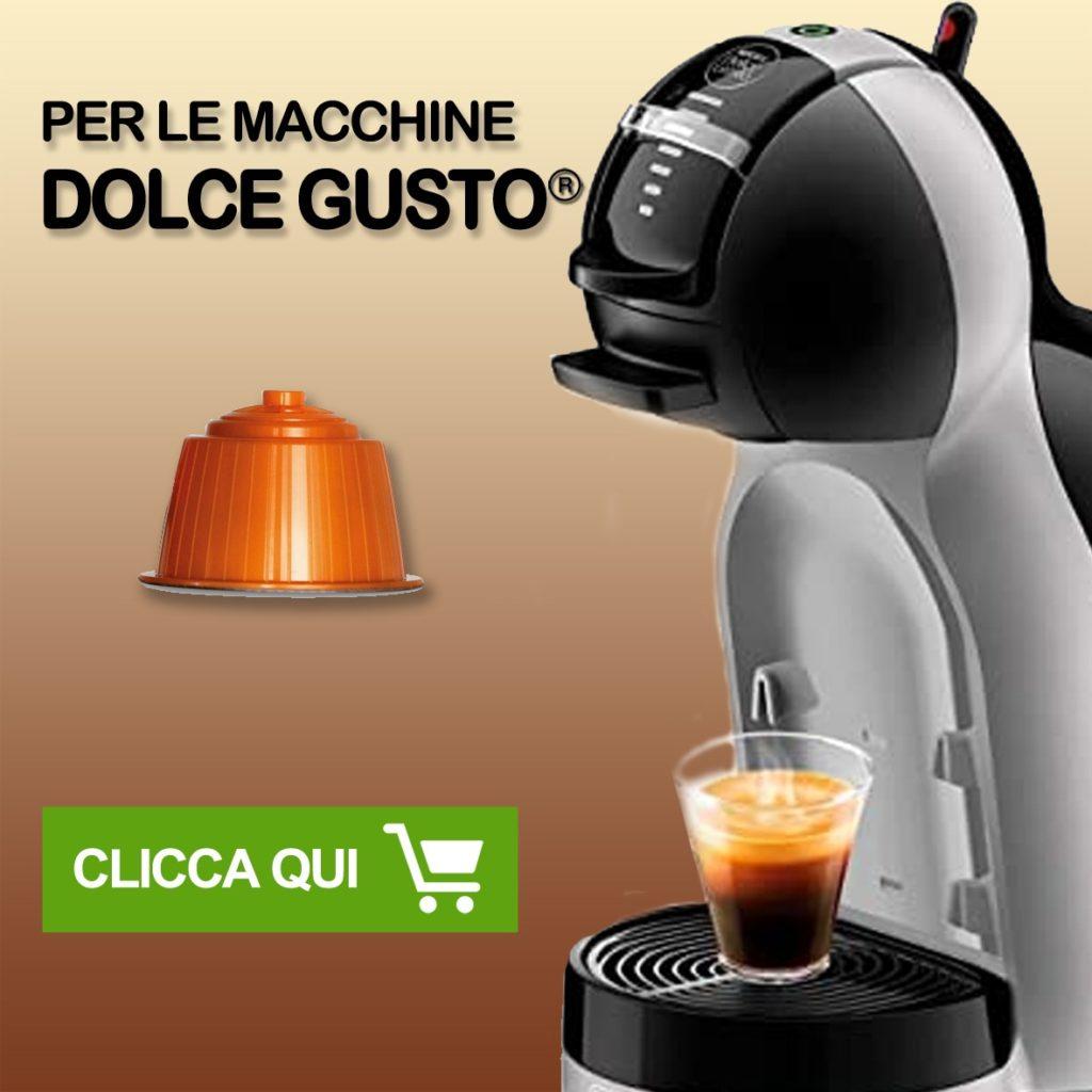 capsule compatibili 8 caffè Tasto link per capsule compatibili sistema dolce gusto*