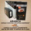 Compatibili Nespresso* Arabica 100 Capsule Alluminio