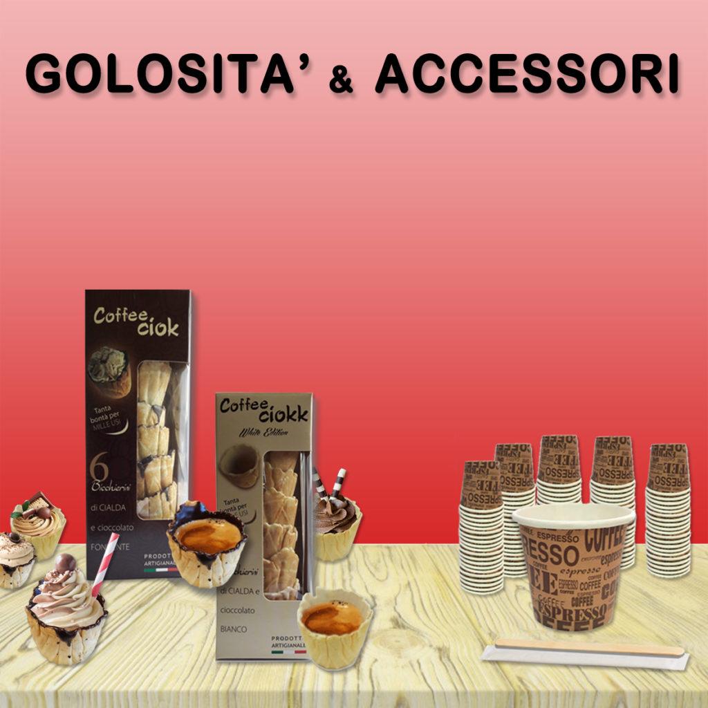 capsule compatibili 8 caffè Tasto link per golosità e accessori